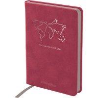 Записные книжки Нуба Стронг А6+, цвет бордовый