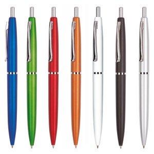 Ручки пластиковые под нанесение - сувенирная продукция с логотипом
