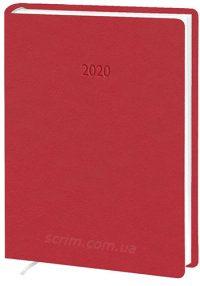 Ежедневники А5 Denim красный
