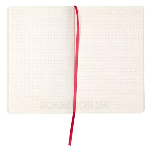 Записные книжки Флекс А5, цвет бирюзовый, в точку