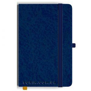 Блокноты A5 Peluto синие под заказ
