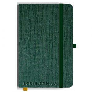 Блокноты A5 Plase зеленые под заказ