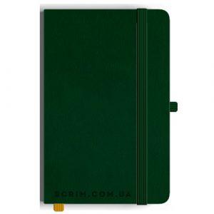 Блокноты A5 Skinger зеленые под заказ