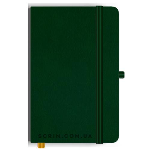 Блокноти A5 Skinger зелені під замовлення