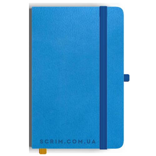 Блокноти A5 Skinger блакитні під замовлення