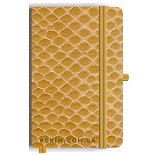 Блокноты A5 Vikonda золотые под заказ