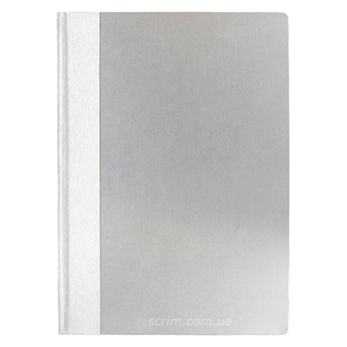 Ежедневники недатированные Бруннен Aluminium, цвет серый