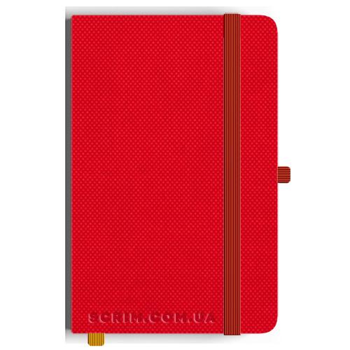 Блокноти A5 Nardo яскраво-червоні під замовлення