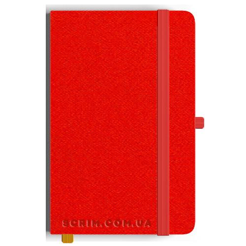 Блокноти A5 Twilly роз-червоні під замовлення