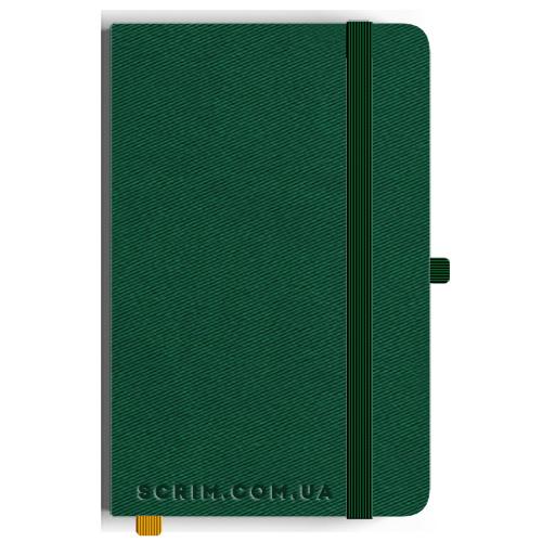 Блокноты A5 Twilly зеленые под заказ