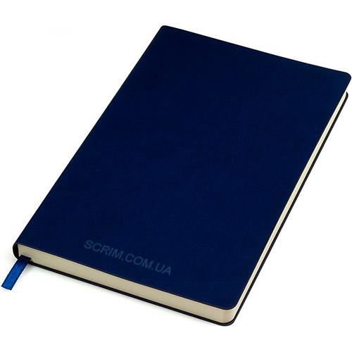 Блокноты темно-синие Funky с логотипом