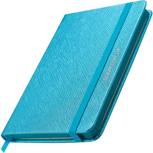 Блокноти блакитні Inga з логотипом