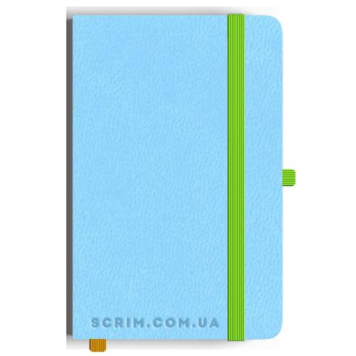 Блокноти Loretta А5 світло-блакитні під замовлення