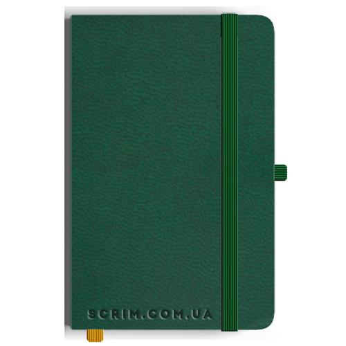 Блокноти Loretta А5 зелені під замовлення
