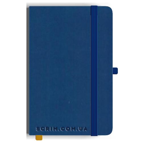 Блокноты Miano А5 синие под заказ