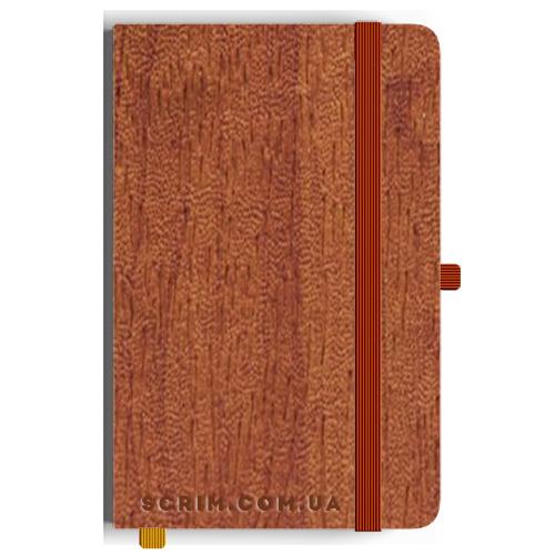 Блокноты A5 Alamo коричневые под заказ