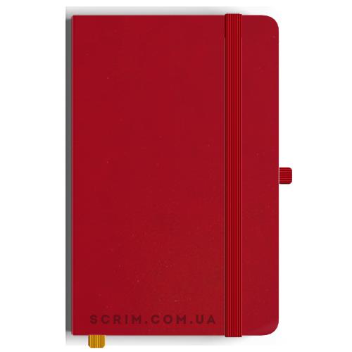 Блокноти A5 Constance червоні під замовлення