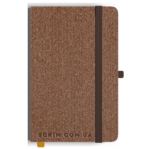 Блокноты A5 Viguaro коричневые под заказ