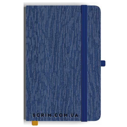 Блокноти A5 Purso сині під замовлення