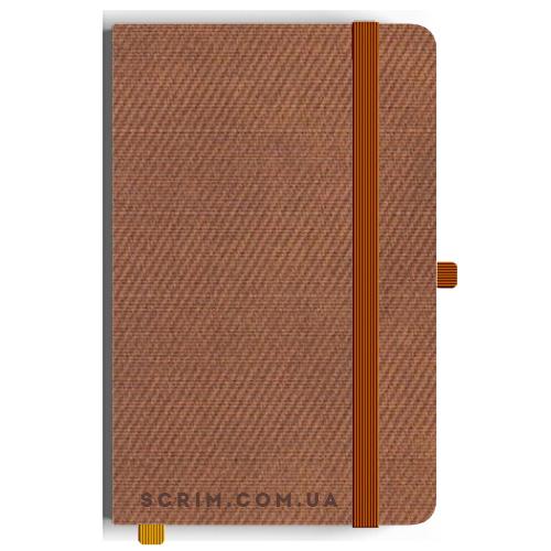 Блокноты A5 Vallon коричневые под заказ