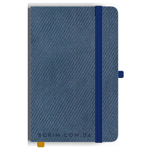 Блокноти A5 Vallon сині під замовлення