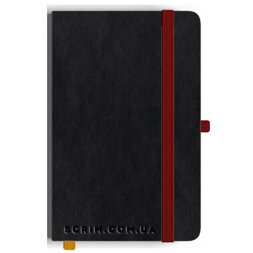 Блокноты A5 Vionika крас-черные под заказ
