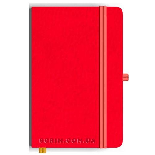 Блокноти A5 Vionika червоні під замовлення