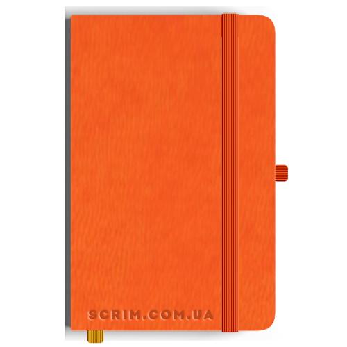 Блокноты A5 Vionika оранжевые под заказ