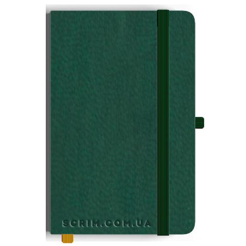 Блокноты A5 Vionika темно-зеленые под заказ