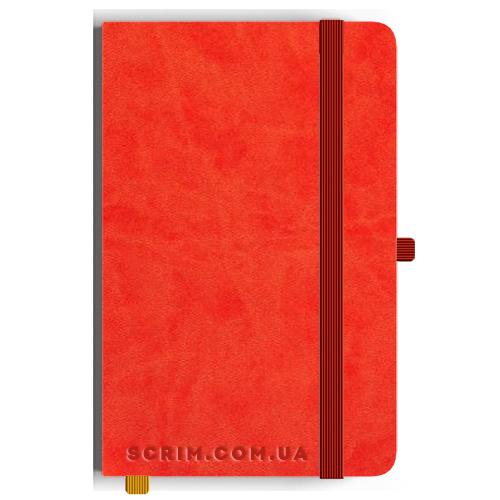 Блокноти A5 Vionika яскраво-червоні під замовлення