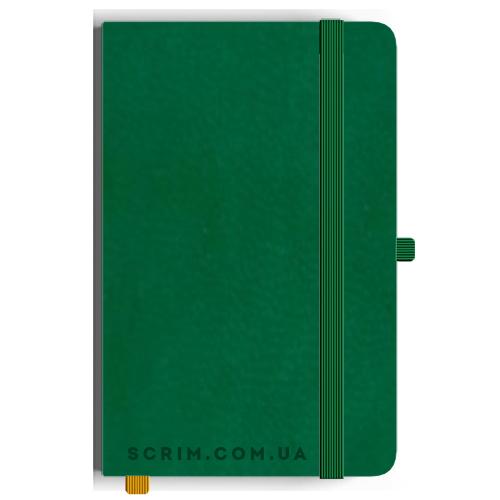 Блокноти A5 Vionika зелені під замовлення