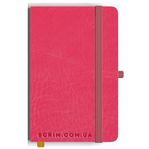 Блокноти A5 Vivian рожеві під замовлення