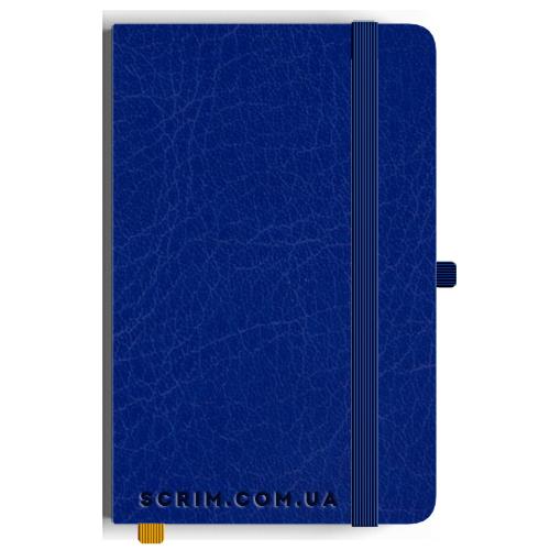Блокноти A5 Vivian сині під замовлення