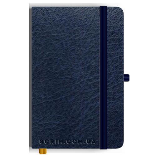 Блокноты A5 Vivian темно-синие под заказ