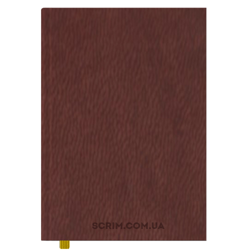 Ежедневники А4 Vester коричневые датированный блок