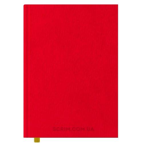 Ежедневники А4 Vester красные датированный блок