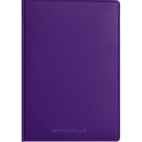 Ежедневники Fidelli фиолетовые с логотипом