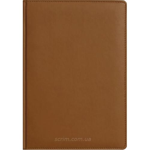 Щоденники Fidelli коричневі з логотипом