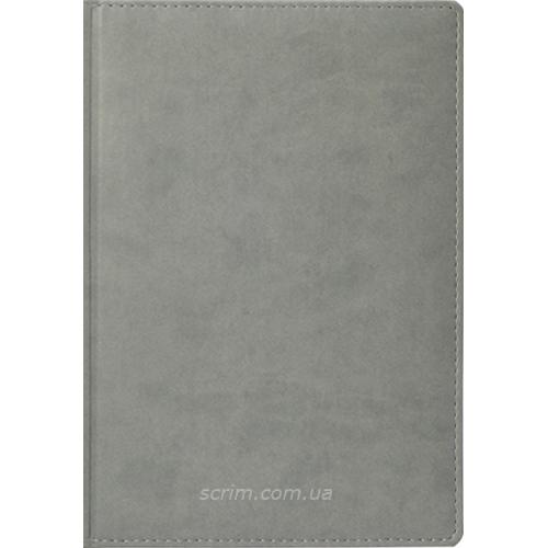 Ежедневники Fidelli светло-серые с логотипом