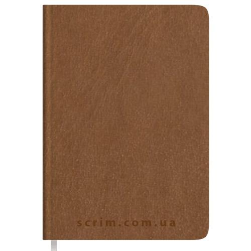 Ежедневники B6 недатированные Natty светло-коричневые