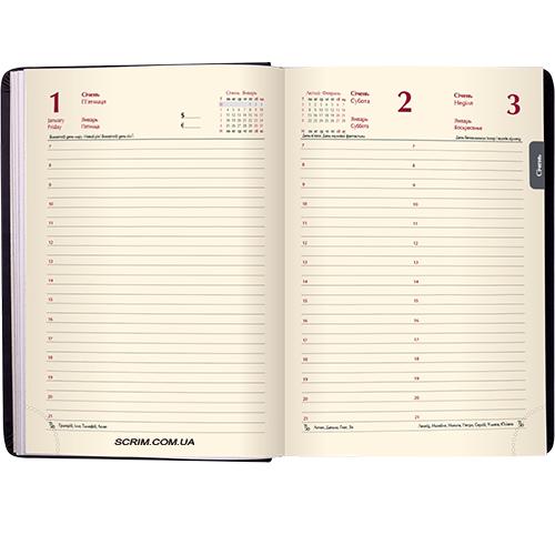 Щоденники BM датований кремовий блок
