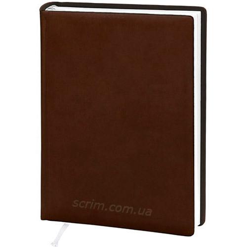 Щоденники датовані Vivella коричневі з логотипом