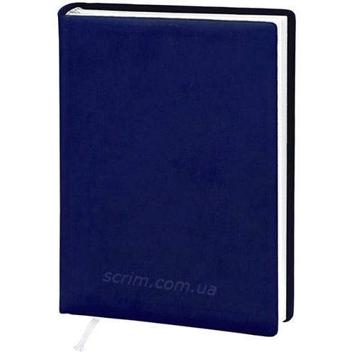 Щоденники датовані Vivella темно-сині з логотипом