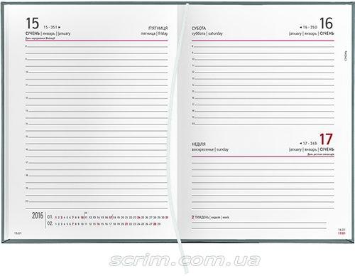 Ежедневники датированные Vivella белый блок