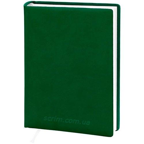 Ежедневники датированные Vivella зеленые с логотипом
