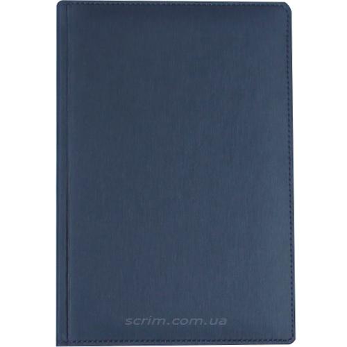 Щоденники датовані Albamo темно-сині з логотипом