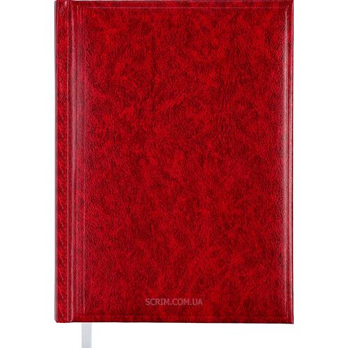 Ежедневники датированные Bas бордовые с логотипом