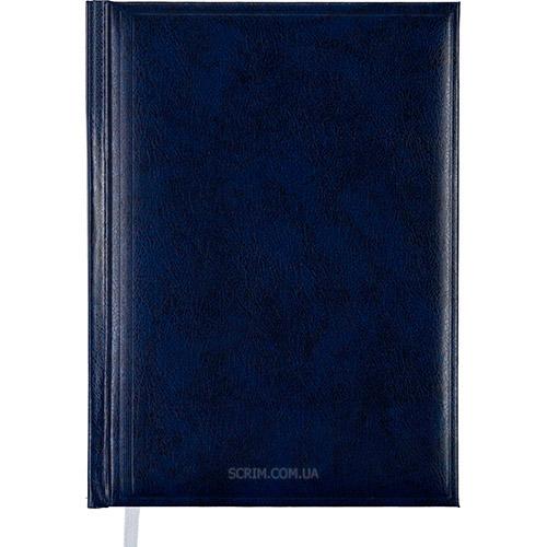 Ежедневники датированные Bas темно-синие с логотипом
