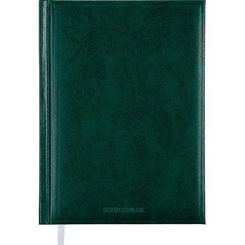 Ежедневники датированные Bas зеленые с логотипом