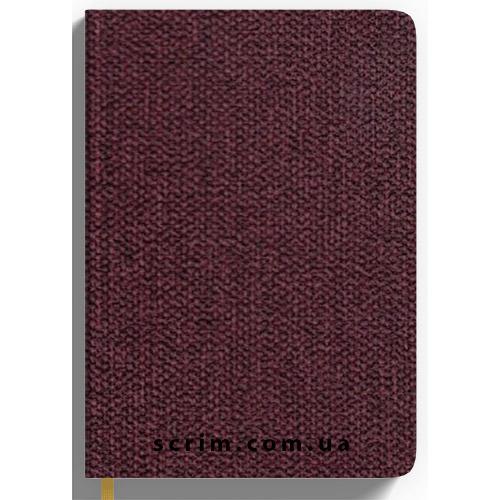 Ежедневники датированные Cambee бордовые с логотипом
